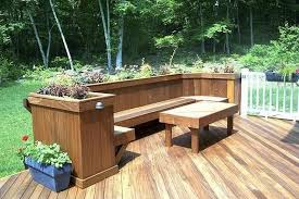 30 exciting outdoor wooden bench seat