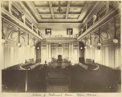 Queensland Parliament House  History In Pictures John Oxley Library - Houses of parliament interior