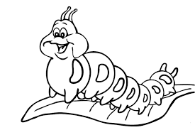 Small Picture Caterpillar coloring pages for kids ColoringStar