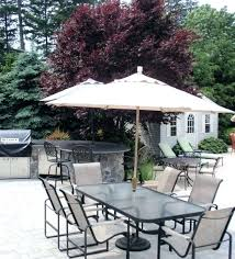 small patio table with umbrella hole furniture um size of ideas side