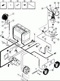 Power case elec equipment wiring spark ignition eng used diagram delco starter generator wires electrical circuit