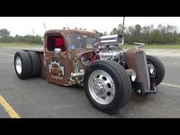 blown 1935 ford dually rat rod truck rust rebellion youtube