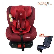 crolla s isofix car seat new born 7 years free car seat protector