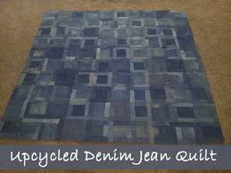 Recycled Old Denim and Jeans Into a Handmade Quilt (DIY Idea) &  Adamdwight.com