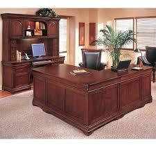 wood l shaped desk rue shape executive sk set solid u office