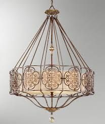 surprise murray feiss lamps f2228 6ats crystal salon maison six light chandelier