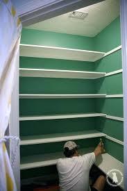 build shelves building wall custom easy pantry floating constructing built in shelving wood shelf for books