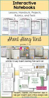 best ideas about presentation sample up and up short stories unit for interactive notebooks