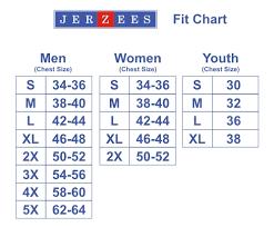 Jerzees T Shirt Size Chart Jerzee Raglan Sleeved Sweat Shirt