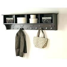 entryway shelf with hooks coat rack wall mounted coat rack wall mounted with shelf hooks hall