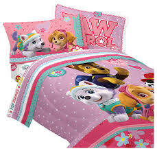 paw patrol twin bedding set best pup pals comforter sheets