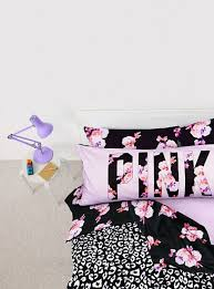 pink bed sheets pajamas pink flowers black pillow bedsheets bedding girly
