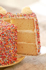 Vanilla Birthday Cake Recipe Gemmas Bigger Bolder Baking