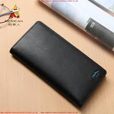 mexican scarecrow wallet male long section leather 2018 new multi card bit leather mens youth wallet