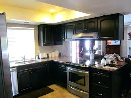 cabinet handles for dark wood. Cabinet Handles For Dark Wood Black Metal Kitchen Double Stainless . L