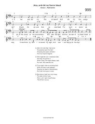 At The Cross Where I First Saw The Light Lyrics Hymn Alas And Did My Savior Bleed