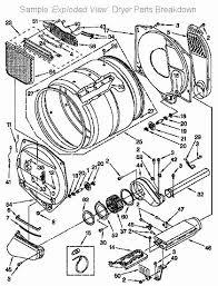 frigidaire dryer parts diagram frigidaire dryer parts wiring diagram Frigidaire Dryer Wiring Diagram frigidaire dryer parts diagram appliance411 repair parts appliance parts lists schematic frigidaire dryer wiring diagram gler341as2