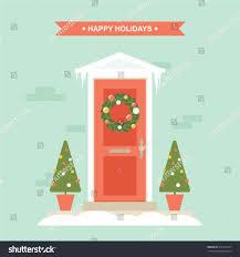 christmas front door clipart. Christmas Front Door Clipart Wood Shape Tree Hanger Cartoon U Pictures Clip Artscstbest Art Images A