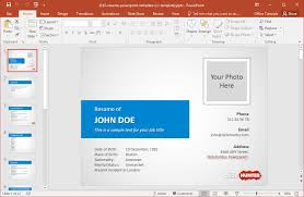 Powerpoint Resume Template Best Of How To Make A Resume In PowerPoint
