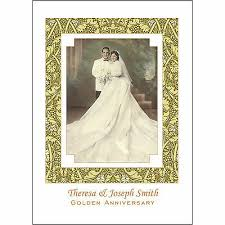 50th Anniversary Party Invitations 25 Personalized 50th Golden Anniversary Party Invitations With Photo Ap 1h Ebay