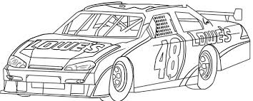 Small Picture Nascar Race Car Sport Coloring Page Race Car Pinterest Adult