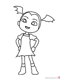 Vampirina Coloring Pages Fan Art Free Printable Coloring Pages
