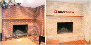update red brick fireplace how to redo a brick fireplace ideas to change red brick fireplace