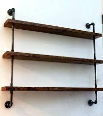 wood shelves with metal brackets shelf brackets wood shelving unit wall shelf industrial shelves rustic home