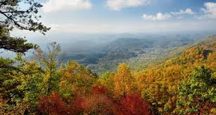Image result for mountain valley fall pictures