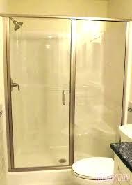 glass shower door cost glass shower door cost framed glass shower door s