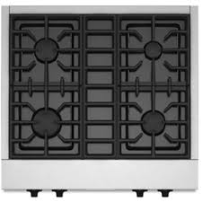 kitchenaid 30 gas rangetop stainless steel kgcu407vss