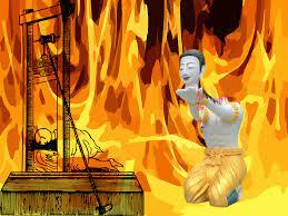 รู้จัก 'กิโยติน' พระตัดคอตัวเอง ถวายพุทธบูชา มีมาตั้งแต่ยุคพระเจ้าหลุยส์ |  Thaiger ข่าวไทย