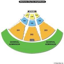 Okc Zoo Amp Seating Chart Okc Amphitheater Winston Salem Pizza