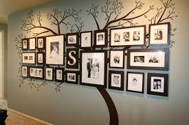 ... Cool Inspiration Family Frames Wall Decor Brilliant 50 Tree Picture  Frame Hanging Design Ideas ...