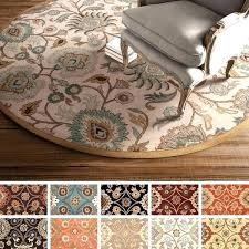 luxurious 4 ft round rug of 5 feet foot rugs brilliant with regard