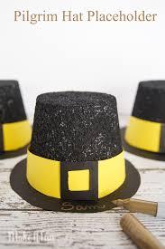 easy pilgrim hat placeholders