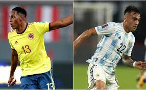 Colombia vs Argentina: Confirmed ...