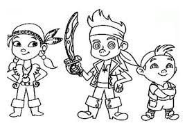 Small Picture Jake And The Neverland Pirates Coloring Pages regarding Residence