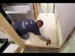 how to tile a bathroom floor this old house