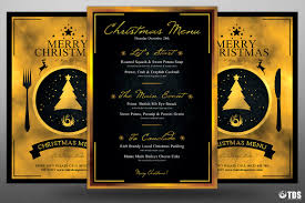christmas menu template v tds psd flyer templates christmas eve menu template psd v 3