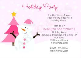 Company Holiday Invitation Wording Holiday Party Invitation Wording