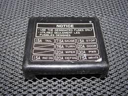 91 92 93 94 95 toyota mr2 oem interior fuse box cover autopartone com product image 91 92 93 94 95 toyota mr2 oem interior fuse box cover