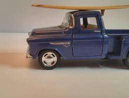 New Vintage 1955 Chevy Stepside Classic Pick-up Surfboard 1:32 ...