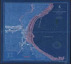 Milwaukee Die Chart Amazon Com Vintography Noaa Blueprint Style 18 X 24