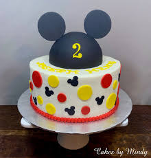 Mindy: Mickey Mouse Birthday Cake ...