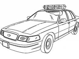 42 Cop Car Coloring Pages Bmw 5 Police Car Coloring Page
