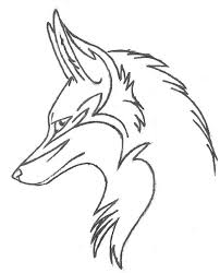 tribal fox drawing.  Fox Credit To Original Artist Httpswwwdeviantartcomwildfireflyarttribal Fox158235360 For Tribal Fox Drawing B
