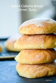 Italian Ciabatta Bread Rolls Recipe Chefdehomecom
