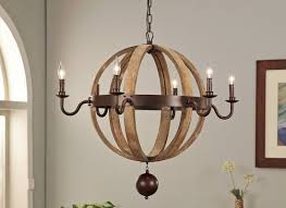 iris 6 light candle style chandelier