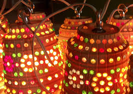 Retro Camper Party Lights Vintage Lawnware Patio Party Lights Lights At Night